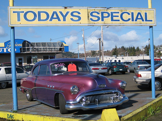 dirty car sales by Hugo90