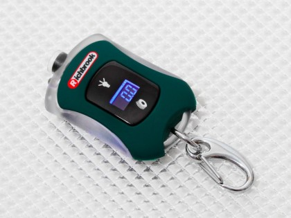 Tyre Pressure Gauge - Key Ring Style Part 300093