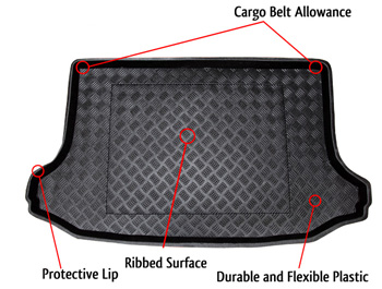 Citroen C4 PICASSO 2 seats Boot Liner (since 2006)