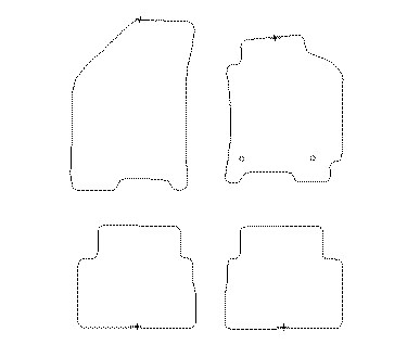 Chevrolet Lacetti Hatchback Car Mats