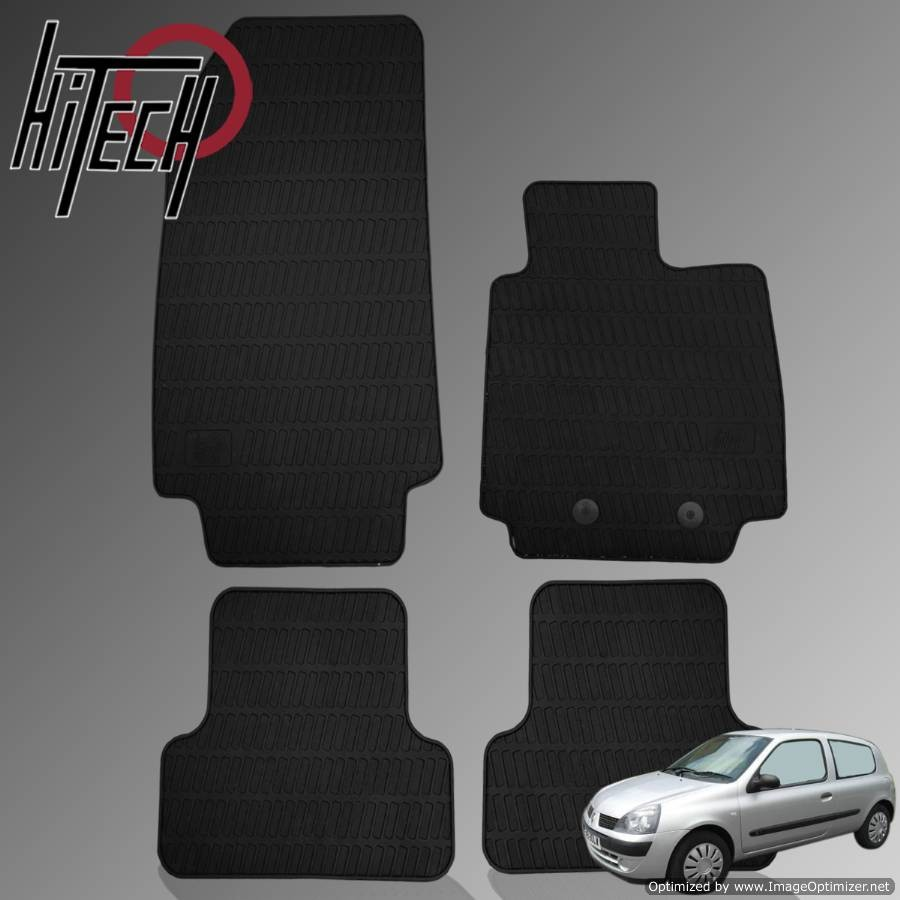 Renault Clio Hatchback Rubber Car Mats