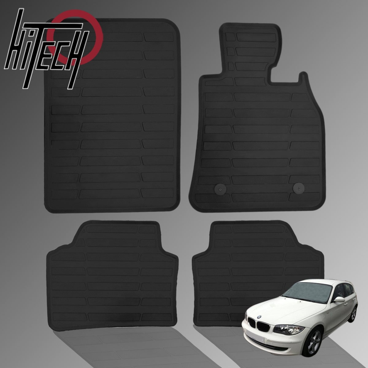 BMW 1 Series E87 Rubber Car Mats