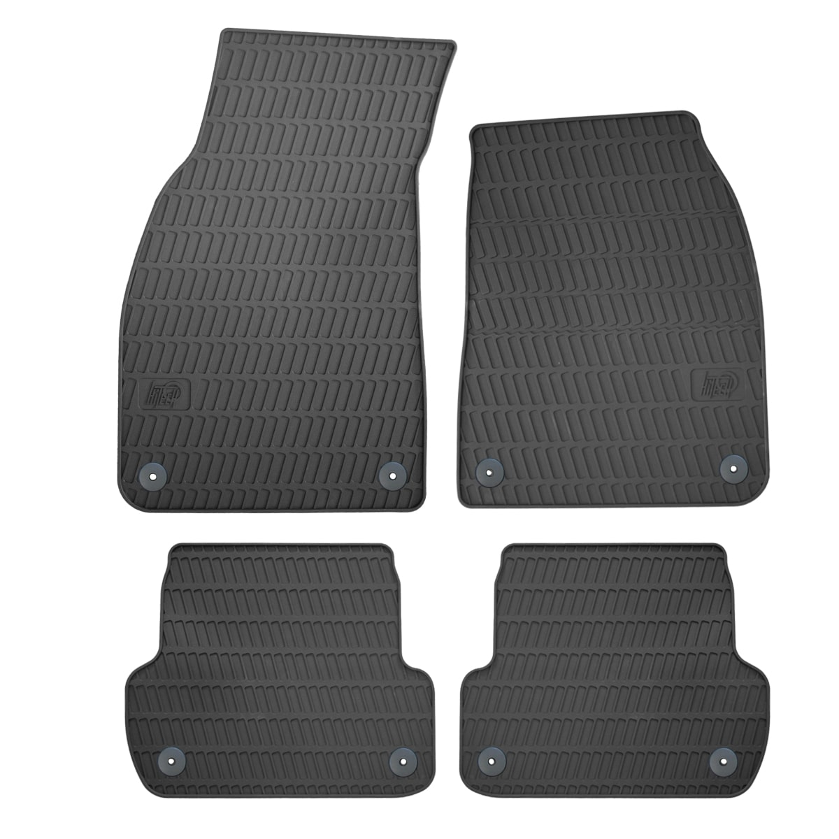 Audi A4 Saloon Rubber Car Mats