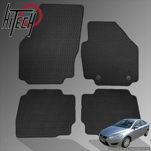 Ford Mondeo Mk4 Saloon Rubber Car Mats