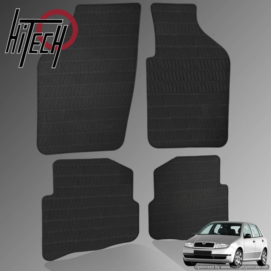 Skoda Fabia Mk1 Hatchback Rubber Car Mats