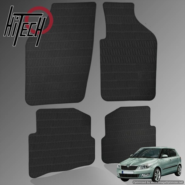 Skoda Fabia Mk2 Hatchback Rubber Car Mats