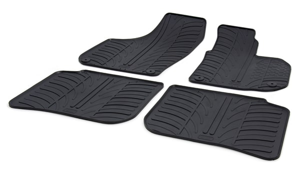 BMW 1 Series 5 Door Hatchback Rubber Car Mats