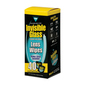 Lens Glass Wipes (40 Wipes)
