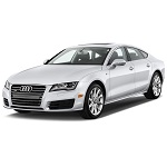 Audi A7 Rubber Car Mats