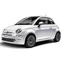 Fiat 500 Rubber Car Mats
