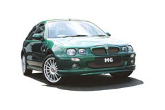 MG ZR Car Covers