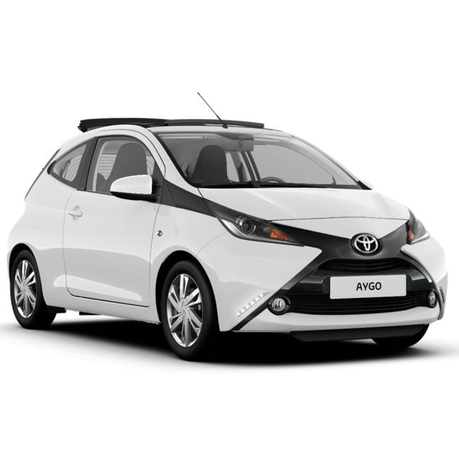 Toyota Aygo Roof Bars