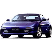 Toyota MR2 Car Mats