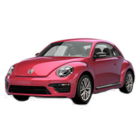 Volkswagen Beetle Rubber Car Mats