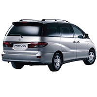 Toyota Previa Roof Bars