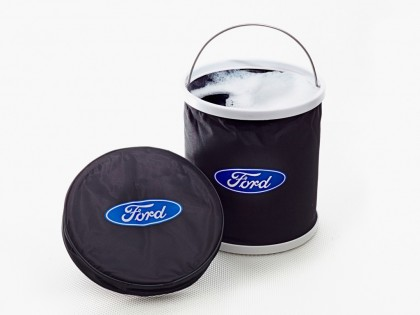 Ford Logo Foldaway Collapsible Bucket (10 Ltr)