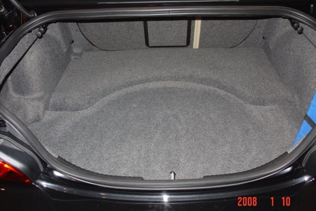 Jaguar X Type Saloon 4 door Antislip Boot Liner