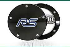 Ford Twist Off Back Tax Disc Holder - Black with RS logo