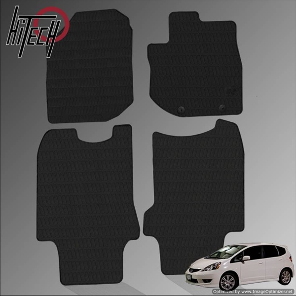 Honda Jazz Hatchback Rubber Car Mats