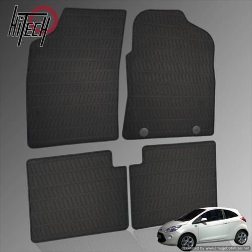 Ford KA Hatchback Rubber Car Mats