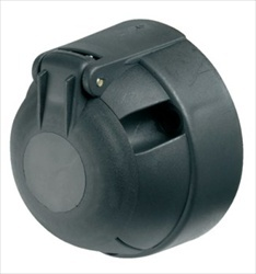 12N 7 Pin Plastic Socket