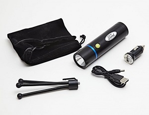 Re-Chargeable LED Torch and Tripod Kit with Ford Logo