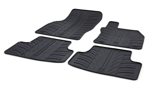 SEAT Leon 5 Door Hatchback Rubber Car Mats
