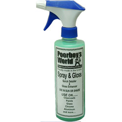 PoorBoys World Spray and Gloss 16oz (473ml)