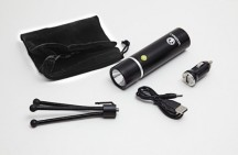 Vauxhall Rechargeable Torch and Tripod Kit