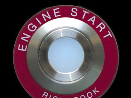 Illuminated Push Button Ignition Start Kit