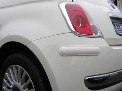 Bumper and Paintwork Protectors White, 370mm (Pair)