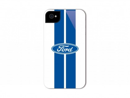 Ford Phone Cover Blue Stripes